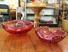 Mid Century Glass Bowl   $24 and up  Dealer #282  Lula B's  1010 N. Riverfront Blvd. Dallas, TX 75207  Open Daily Mon. -- Sat. 10 to 6 Sun. 12 to 6  Like us on Facebook: https://www.face