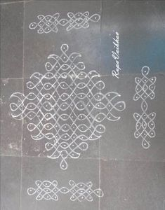 Ideas makeup room art simple for 2019 Indian Rangoli Designs, Rangoli Designs Flower, Henna Art Designs, Rangoli Border Designs, Rangoli Patterns, Wedding Mehndi Designs, Rangoli Ideas, Rangoli Designs Images, Rangoli Designs With Dots