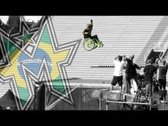 """Aaron Wheelz Fotheringham Makes First Jump on MegaRamp in Wheelchair - proof he is not """"dis-abled"""" - just """"differently-abled"""".  and Brave!"""