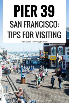 Tips for visiting Pier 39 in San Francisco: where to go with kids in San Francisco California Tourist Attractions, California Travel Guide, California Vacation, Visit California, Northern California, California Quotes, California Burrito, Ontario California, South California