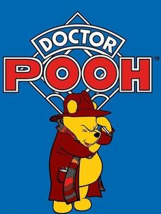 Doctor Pooh! This makes me happy in so many ways, I can't even tell you.