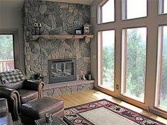 Moss-Rock Fireplace