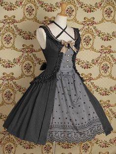 Mary Magdalene  Paulina JSK  パウリーナジャンパースカート    http://hellolace.net/wardrobe/mary-magdalene/type/jsk/item/34/