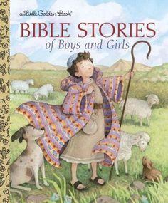 Bible Stories of Boys and Girls Little Golden Books