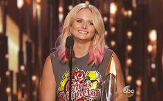 "Miranda Lambert Says in CMAs 2015 Speech: ""I Needed a Bright Spot This ..."