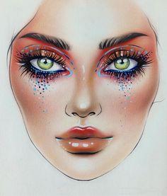 "4,881 Likes, 19 Comments - Sergey X (@milk1422) on Instagram: ""#artist@milk1412  ✨ #mylove #myart #myartistcommunity #myartistcommunityrussia #makeup #makeupart…"""