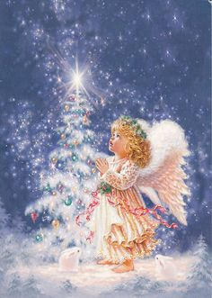CHRISTMAS BABY ANGEL