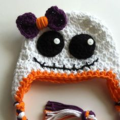 halloween crochet beanies - Google Search