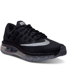 new concept 9a8e4 32d51 Nike Big Boys' Air Max 2016 Running Sneakers from Finish Line & Reviews -  Finish Line Athletic Shoes - Kids - Macy's