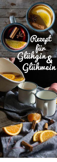 Homemade Glühgin / mulled wine for the pre-Christmas season