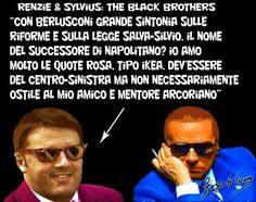 Renzie and Sylvius: the black brothers