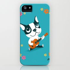 Boogie on Ukelele iPhone Case