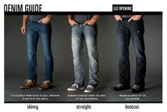 Rachel´s Fashion Room: Claves para elegir los pantalones vaqueros para hombre