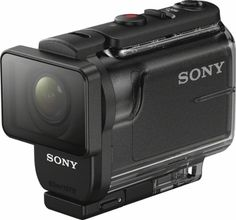 Sony - HDR-AS50 HD Action Camera - Black - Left_Zoom