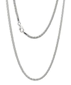 Loving this Sterling Silver Spiga Chain Necklace on #zulily! #zulilyfinds