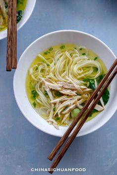 Chinese Chicken Noodle Soup – China Sichuan Food