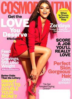 COSMOPOLITAN Magazine July 2016 ZENDAYA Cover, Better Sex, Score A Job You Love