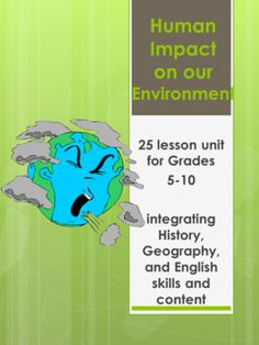 Human Population Impacts On The Environment WebQuest ...
