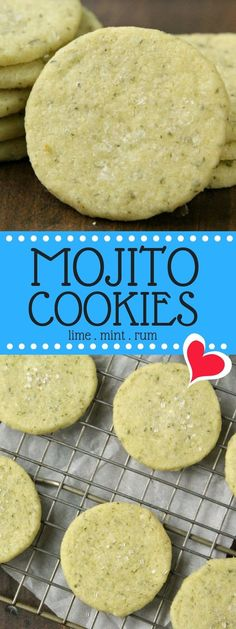 Mojito cookies, the
