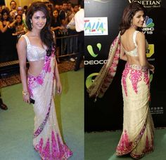 Got this in champaigne and green; love Manish Malhotra