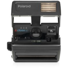 Impossible Polaroid 600 Square Camera ($130) ❤ liked on Polyvore featuring men's fashion, men's accessories and black