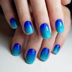 50 Stunning Blue Nail Designs for a Bold and Beautiful Look #bluenails #bluenaildesign #bluenailcolor #nailart