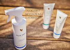 Aloe First - nevében az elsőbbsége! Forever Living Products, Spray Bottle, Aloe, Airstone, Aloe Vera