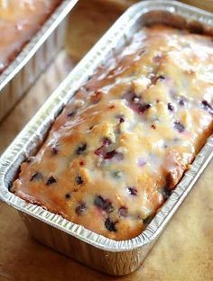 Lemon Blueberry Loaf | Viral On Web