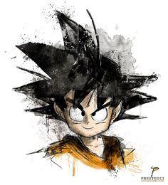 Dragon Ball Z/GT/Super : Foto gadgetto. Dragon Ball Z, Manga Dragon, Kid Goku, Desenho Tattoo, Anime Tattoos, Art Graphique, Fan Art, Anime Comics, Sword Art