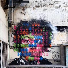 SAMPA GRAFFITI ~ Beco Do Lira Work by @jahru | Pinheiros - São Paulo ▪ #hendrix…