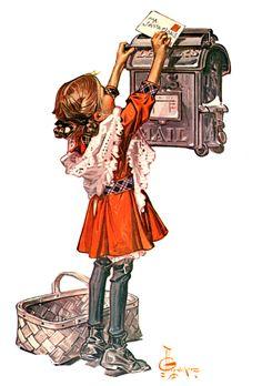 Magazine cover - by Joseph Christian Leyendecker Illustrators, American Illustration, Character Design, Illustration, Norman Rockwell, Art, Original Art, Leyendecker, Vintage Illustration
