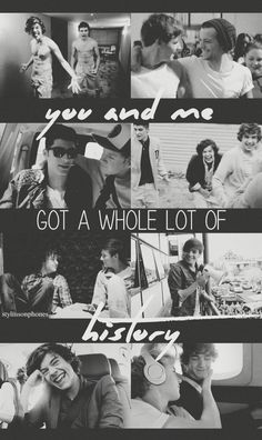 "One Direction ""History MV"" Lockscreen • ctto: @stylinsonphones"