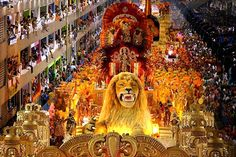 Rio Carnival in Rio de Janeiro - Brazil