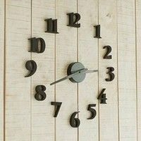 Features: DIY digital wall clock Draft standards of combined size:38.5 cm Movement diameter:100 mm H