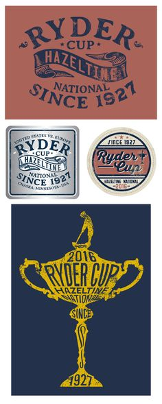 2016 Ryder Cup Concepts on Behance