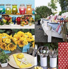 backyard party ideas by junkgarden, via Flickr
