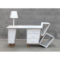 Kenn Desk by Seletti - Decolab Deconstruction, Decoration, Office Desk, Corner Desk, The Originals, Modern, Design, Furniture, Home Decor