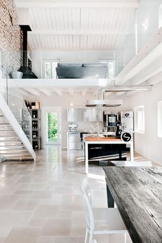 Ex cascina a Mantova_ Studio Associato Archiplan #restauro #recupero #design #interiors #homedecor #cucina #kitchen
