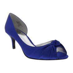 I. Miller Caryssa Knotted D'Orsay Peep-Toe Pumps  found at @JCPenney
