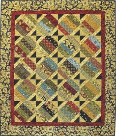 Pieceful Prairie Quilt Pattern by Quilt Woman