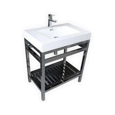 KubeBath Cisco 30-inch Single Sink Bathroom Vanity