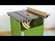 Homemade table saw fence - YouTube