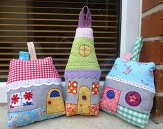 fabrics with houses on it - Google Search