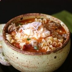 Lasagna soup...I want to try this