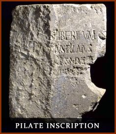 Top Ten Biblical Discoveries in Archaeology – #6 Pontius Pilate Inscription