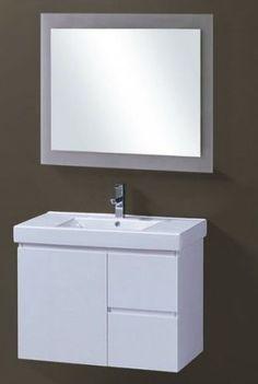 Custom Bathroom Vanities Wollongong timberline nevada 900mm wall hung vanity | bathroom | pinterest