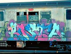 Rasta [Also Chris Chase, etc. Graffiti Piece, Graffiti Drawing, Graffiti Styles, Graffiti Lettering, Street Art Graffiti, Graffiti Artwork, New York Subway, Nyc Subway, Subway Art