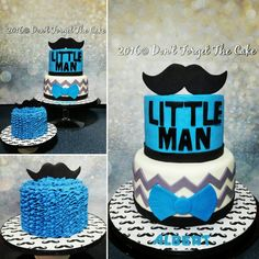 Boys 1st birthday mustache cake and smash cake
