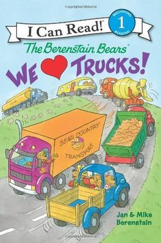 The Berenstain Bears: We Love Trucks! (I Can Read Book 1) by Jan Berenstain, http://www.amazon.com/dp/0062075357/ref=cm_sw_r_pi_dp_aKR8rb0ARZD6Q