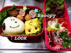 スヌーピー♡簡単可愛いキャラ弁 by JCGM♡ [クックパッド] 簡単おいしいみんなのレシピが251万品
